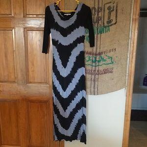 Tye dye maxi dress